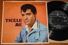"""ELVIS PRESLEY ~ TICKLE ME ~ UK 4-TRACK RCA 7"""" EP 1965 ~ ROCK 'N' ROLL"""