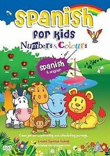 Spanish for Kids Numbers and Colours: 2010 by my desi guru (DVD, 2010)