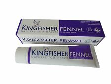 KINGFISHER FENNEL DENTIFRICE - SANS FLUORURE - 4x100ml