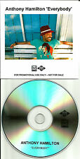 ANTHONY HAMILTON Everybody TST PRESS UK PROMO DJ CD single USA SELLER D'Angelo