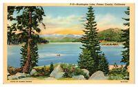 1942 Huntington Lake, Fresno County, CA Postcard *5F(2)36