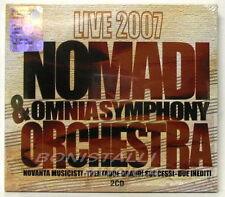 NOMADI & OMNIA SYMPHONY ORCHESTRA - LIVE 2007 Doppio CD Digipack Sigillato