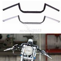 "Clubman Ace 22mm 7/8"" Motorcycle Handlebar Drag Bar For Harley Honda Suzuki"