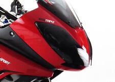 Triumph Tiger 1050 07 17 Headlight Lens Cover Shield CLEAR - Powerbronze NOS