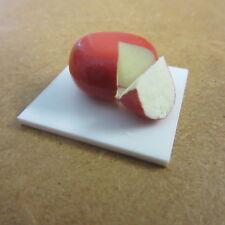 1//12 scale maison de poupées rouge alimentaire fromage Leicester à bord d/'autres F158