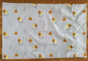 Berkshite Blanket & Home Peanuts Snoopy Halloween  Standard Size Pillow Case