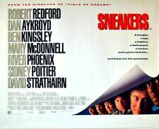 "SNEAKERS - ORIGINAL 1992 ROLLED UK QUAD POSTER 30""x40"" REDFORD, PHOENIX, AYKROYD"