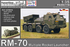 RM-70 Multiple Armored Rocket Launcher T-813 chassis 1/35 PanzerShop C118 resin