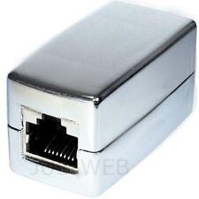 CAT.5e Kabelverbinder Verbinder Netzwerkkabel LAN DSL Kabel Patchkabel 2x RJ45