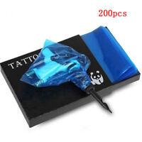 200x Disposable Tattoo Clip Cord Bag Tattoo Machine Clip Cord Sleeve Cover  ZH