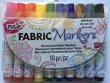 Tulip Fabric Markers 10/Pkg - Rainbow 31648 NEW