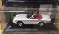 "DIE CAST "" MISTRAL SPYDER  "" MASERATI 100 YEARS COLLECTION"