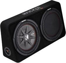 "Kicker 43Tcwrt122 Car/Truck Audio 12""Subwoofer Enclosure Sub Preloaded Box 2-Ohm"