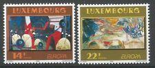Luxembourg 1993 1268-69 ** Europa Fernand Roda Rezlop - Sonja Roef So Close
