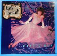 LINDA RONSTADT WHAT'S NEW LP 1983 ORIGINAL PRESS GREAT CONDITION! VG++/VG+!!D