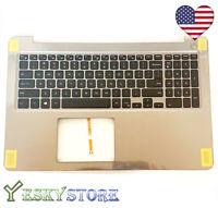 New Backlit Keyboard  Dell Inspiron 15-5567 5565 Palmrest PT1NY W/O Tpuchpad