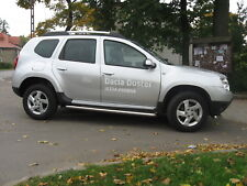 DACIA DUSTER 2010- PROTECTION LATERALES INOX DIA 60mn, MARCHE-PIEDS