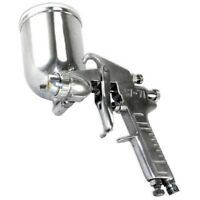 New Pro Swivel Cup 400cc Gravity Feed HVLP Air Spray Paint Gun Automotive Finish