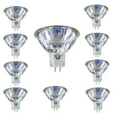 10 x 20W Halogen Leuchtmittel Spot MR16 GU5.3 Ø 50mm 12V Halogenbirne Stifte