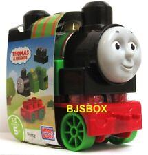 Thomas and Friends Mega Bloks Percy Engine 5 Pcs. Building Blocks New