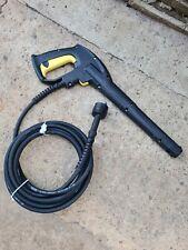 Karcher Pressure Washer Gun Spray Unit And Pressure Hose