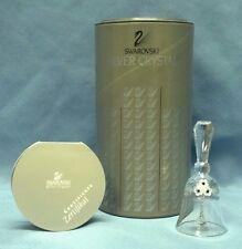 Swarovski Silver Crystal Small Table / Dinner Bell #7467039000 - Nib W/ Cert