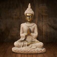 Feng Shui Resin Crafts Mini Sitting Buddha Buddhism Statue Home Decoration 9cm