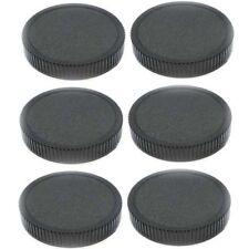Wholesale Lot Six 6-Pack Plastic 52mm Rear Lens Female Thread Caps 52 mm