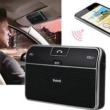 Bluetooth 4.0 Hands-free Multipoint Speakerphone Speaker Car Kit Sun Visor FW