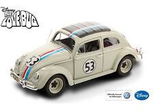 """Hot Wheels Elite 1:18 """"The Love Bug"""" Herbie Volkswagen Beetle #53 BCJ94 White"""
