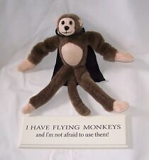 I Have Flying Monkeys Plaque And Screeching Monkey Figure Good Cond. Free Ship!
