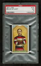 PSA 5  BRUCE STUART  C55 Imperial Tobacco Hockey Card #15