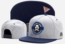 Men Women CAYLER SONS Snapback Adjustable Baseball Cap Hip hop street Hat Gray