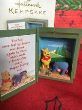 Eeyore Losses Tail Christmas Disney Hallmark Keepsake Winnie Pooh Ornament NIB