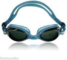 Compete Performance Swim Anti Fog Water Gear Razor BLUE Goggles Aqua 29100BS