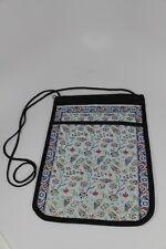 FLORAL TULIP SHOULDER BAG ZIP WITH EXTRA POCKET DIFFERENT 2 SIDE TURKISH DESIGN