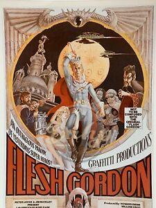 FLESH GORDON 8x10 Color (1 photo) Sexploitation Movie Kodak Print Vintage 1970s