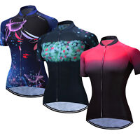Weimostar Women's Cycling Jersey Bike Short Sleeve Maillots Clothing Sportswear