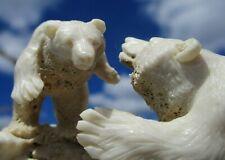 Bär , 2 Bären aus Horn geschnitzt !