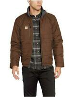 Carhartt Men's Gilliam Jacket (Regular and Big & Tall Sizes), Coffee, Size Large