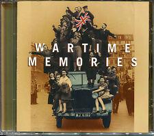 WARTIME MEMORIES CD - GRACIE FIELDS, VERA LYNN, GLENN MILLER & MORE