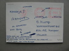 NETHERLANDS, PPC UN Dutch Contingent Croatia 1997, Croatia, fieldpost