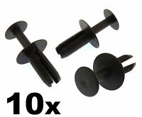 10x BMW 8mm Plastic Rivet Trim Clips- For Boot Linings, Trim & Trunk Floor Mats