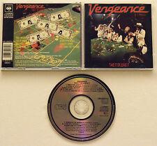Vengeance - Take It Or Leave It (1987, CBS, very rare Original)