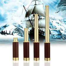 Nautical Telescope 25X30mm Retractable Style Pirate Spyglass Monocular with Bag