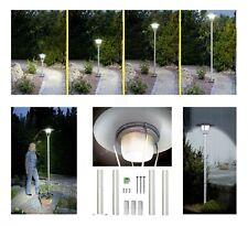LED Orlando Solar Standleuchte Leuchte Lampe Gartenleuchte Garten Wege Terrasse