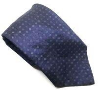 "HUGO BOSS Men's Tie Blue Floral Patterned 100% Silk 3.75"" Width 60"" Length"