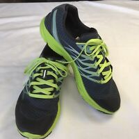 Merrell Men's Performance Castle Rock Gray Lime Running Lace Up Sneakers Size 10