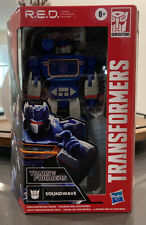 SOUNDWAVE TRANSFORMERS R.E.D. Robot Enhanced Design G1 Figure IN HAND MIB Figure