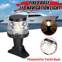 12-24V Marine Boat Yacht Pontoon LED Navigation Stern Anchor Pole Light Lamp